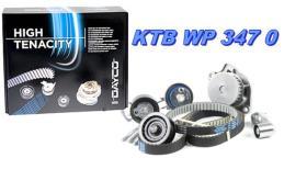 Dayco KTBWP3470 - kit distribucion con bomba VAG 1400 petrol doble correa