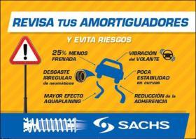 Promociones AMORTIGUADORES SACHS