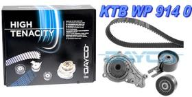 Dayco KTBWP9140 - KITS DISTR.CON BOMBA PSA-FORD 14.16 HDI -C.C4 P307 VOLVO