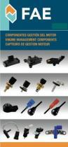 Sensor de impulso / giro cigüeñal  Fae Componentes Electromecánicos