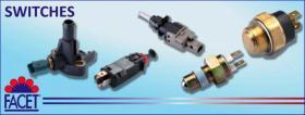 Interruptor Stop  Facet Componentes electromecanicos