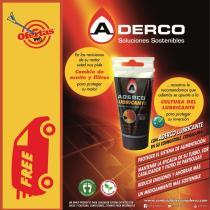 Solución Líquida ADERCO-000150 - ADERCO Dos Ruedas  DESCARBONIZANTE 50ML Especial Motocicleta