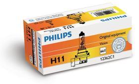 PHILIPS 12362 - H9 CAJA C1 12V 65W PGJ19-5