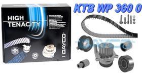 Dayco KTBWP3600 - Kits Distribución Motor con bomba Vw ALH-AGR-ASV motor tdi