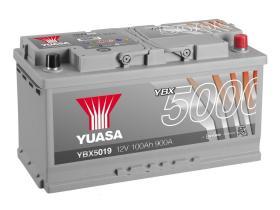 Yuasa YBX5019 - BATERIA 12V 65AH 550A SILVER +DC 232X175X225