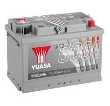 Yuasa YBX5096 - YBX5027 12V 62AH 600A SILVER PERFORMANCE