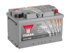 Yuasa YBX5100 - Batería Premiun 12V 80AH 760A 278X175X190