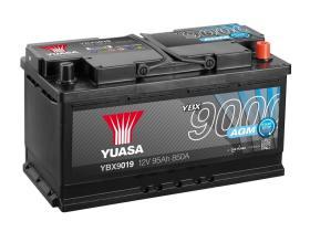 Yuasa YBX9019 - Batería EFB 12V 80AH 780A 303X174X222 positivo a la derecha