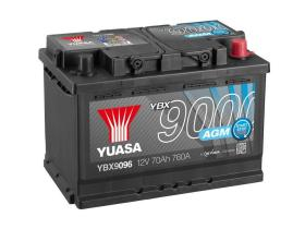 Yuasa YBX9096 - Batería AGM 12V 60AH 680A  T0