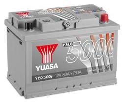 Yuasa YBX7100 - BATERIA EFB STAR&STOP 75AH 680A 278X175X190 12V