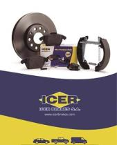 Pastilla freno Industrial Serie 15    Icer Brakes