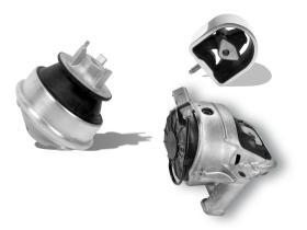 Suspensión Chasis Motor  Metal Caucho