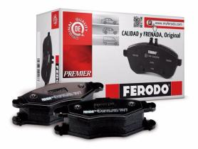 Ferodo FDB1318 - PAST. PREMIER QUALITY CHRYSLER CROS
