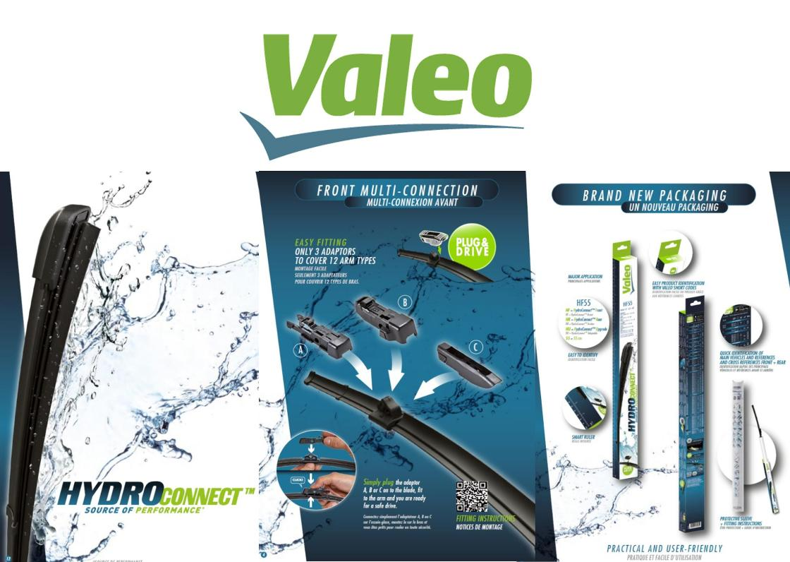 Escobillas Valeo HF